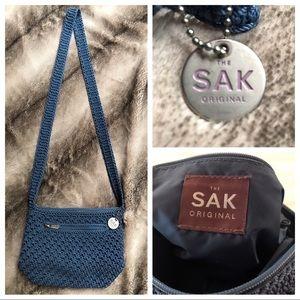 The Sak Original Crocheted Cross Body Bag
